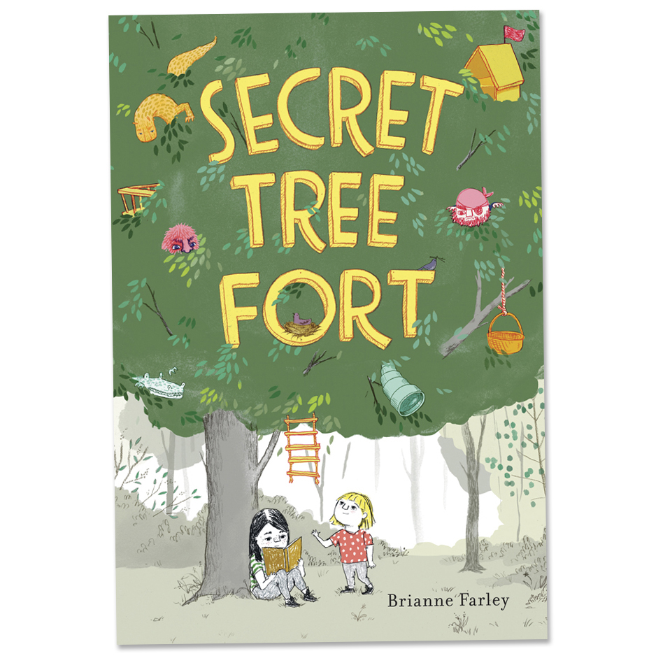 Secret Tree Fort  Candlewick Press April 2016