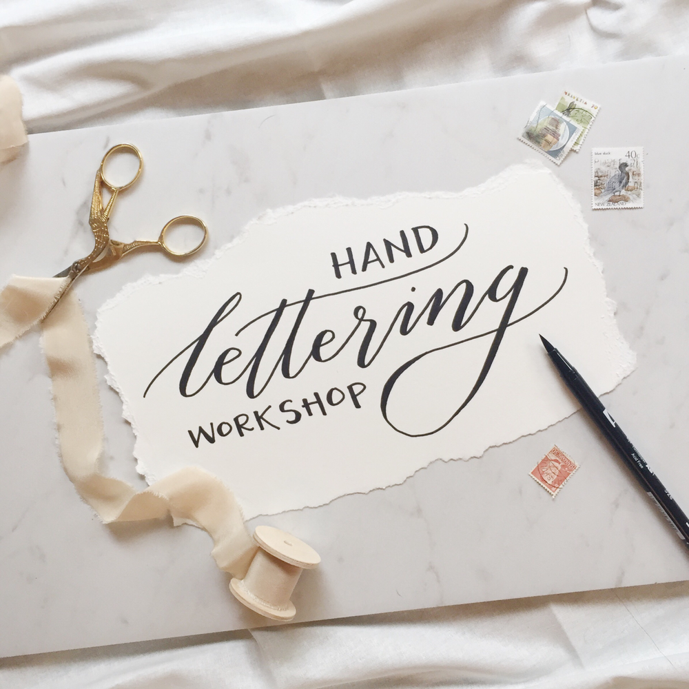 Valentine Hand Lettering by Sable and Gray