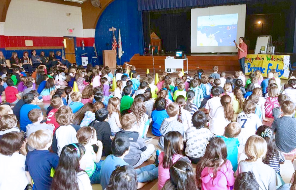 Brianne Farley Author School Visit
