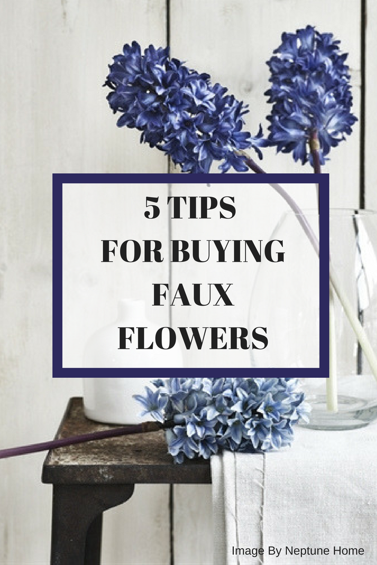 Tips for buying Faux Flowers