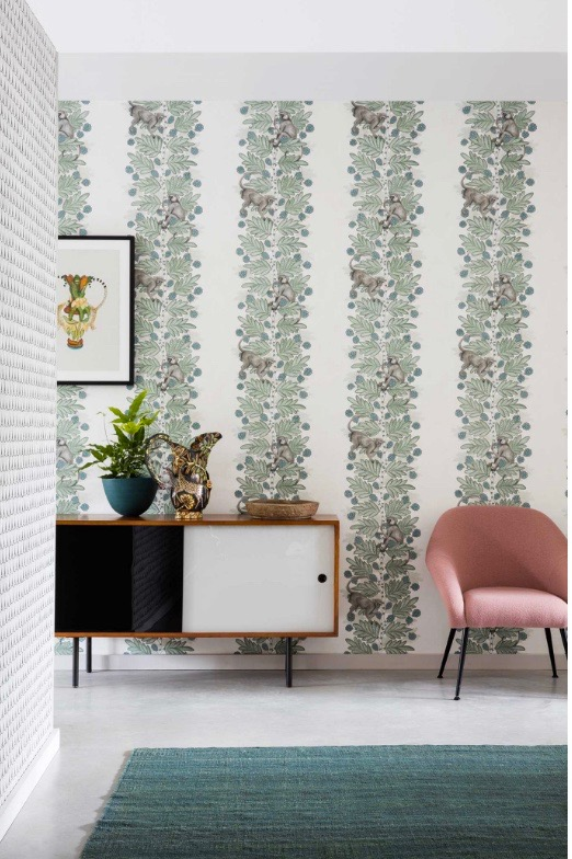 Floral wallpaper from Cole and Son London
