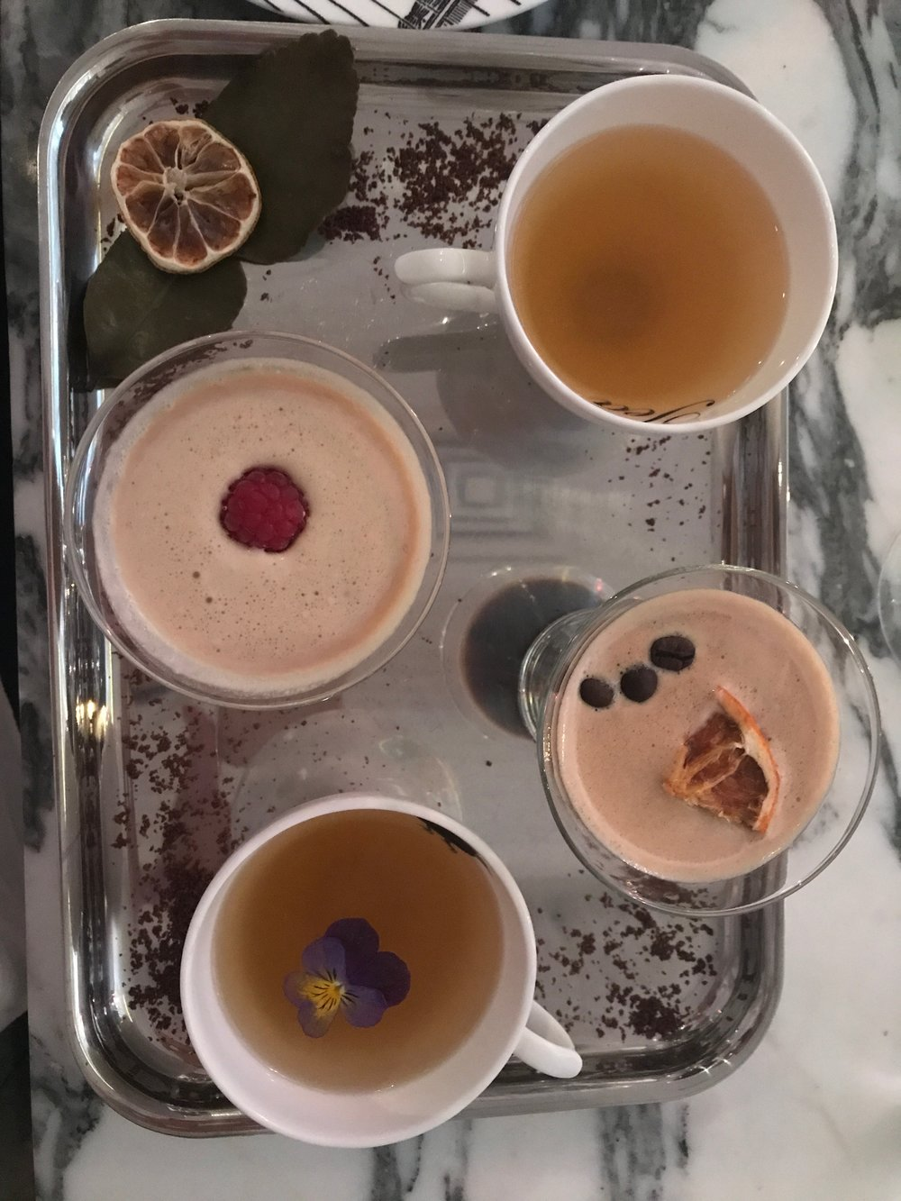 Amara Tea Party at The Sanderson Hotel in London with bloggers -  Camilla Pearl