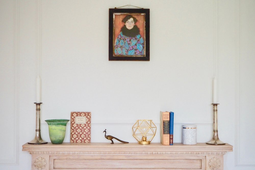 Ways to style your mantelpiece by Camilla Pearl