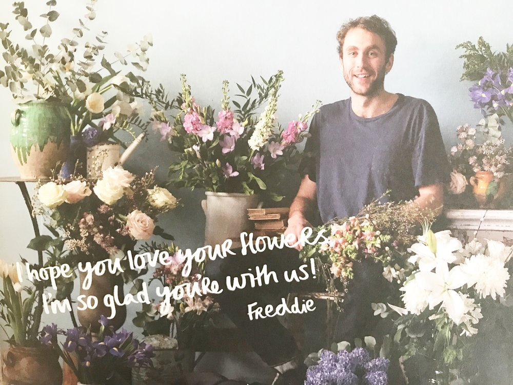 Freddies Flowers on the Camilla Pearl Blog.  How much do you spend on your flowers at home?