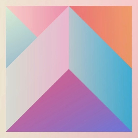 Ultra Geometric art print by Aftr Drk at Society 6.com