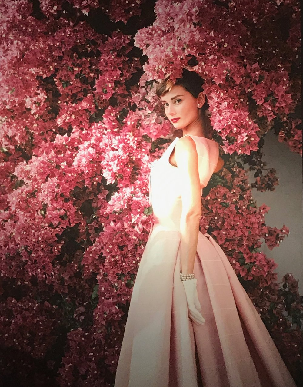 Audrey Hepburn exhibition at Christie's London 2017