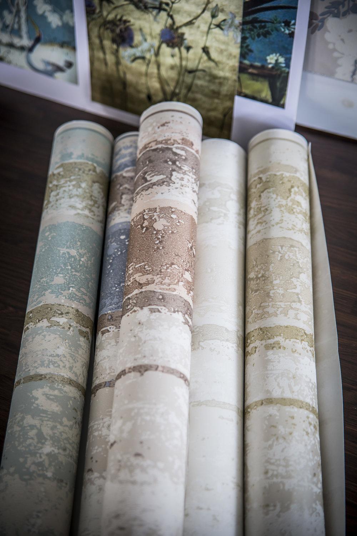 Rolls of Wallcovering.JPG