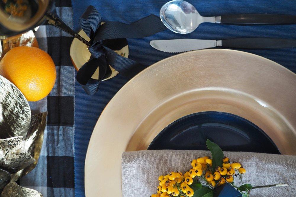 Camilla Pearl tablescape ideas for Christmas