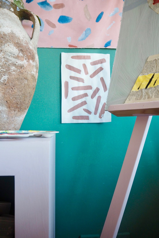Camilla Pearl art studio and home office