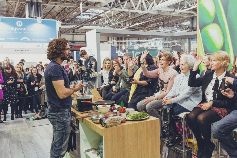 Joe Wicks at the NEC Spring Fair