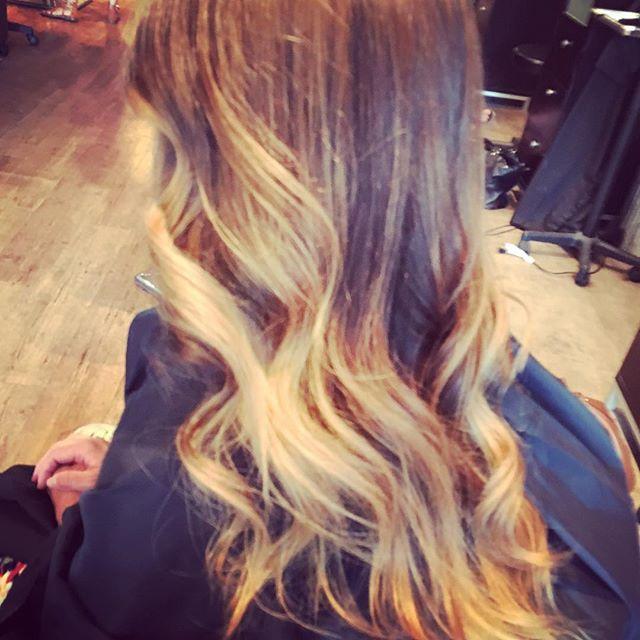 #behindthechair #halosalon #iamgoldwell #hairpainting #balayage