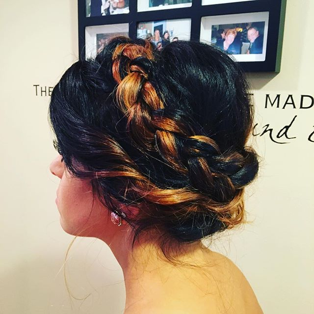 #buffalosalon #halosalon #weddinghair #behindthechair #americansalon #updo
