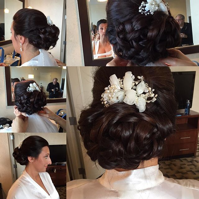September Love #2016bridalhair #fallbrides