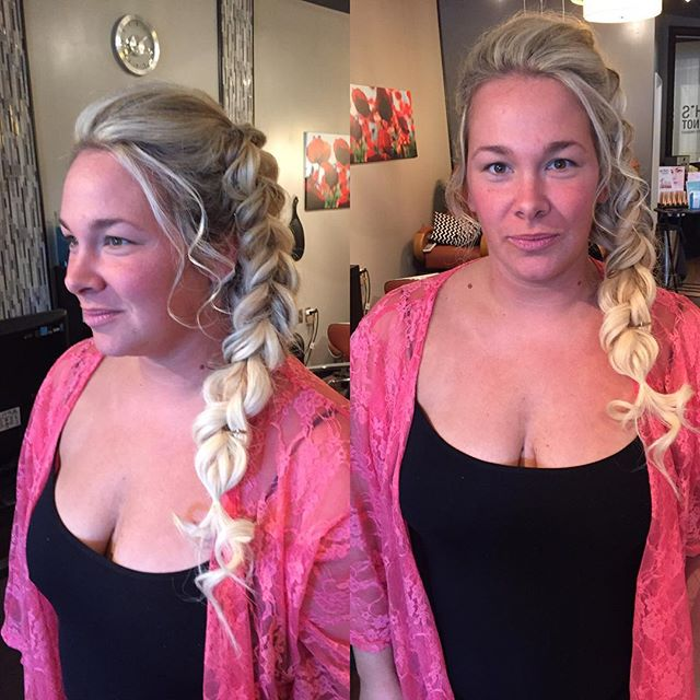 Elsa revisited #braids #frozen #bridalhair
