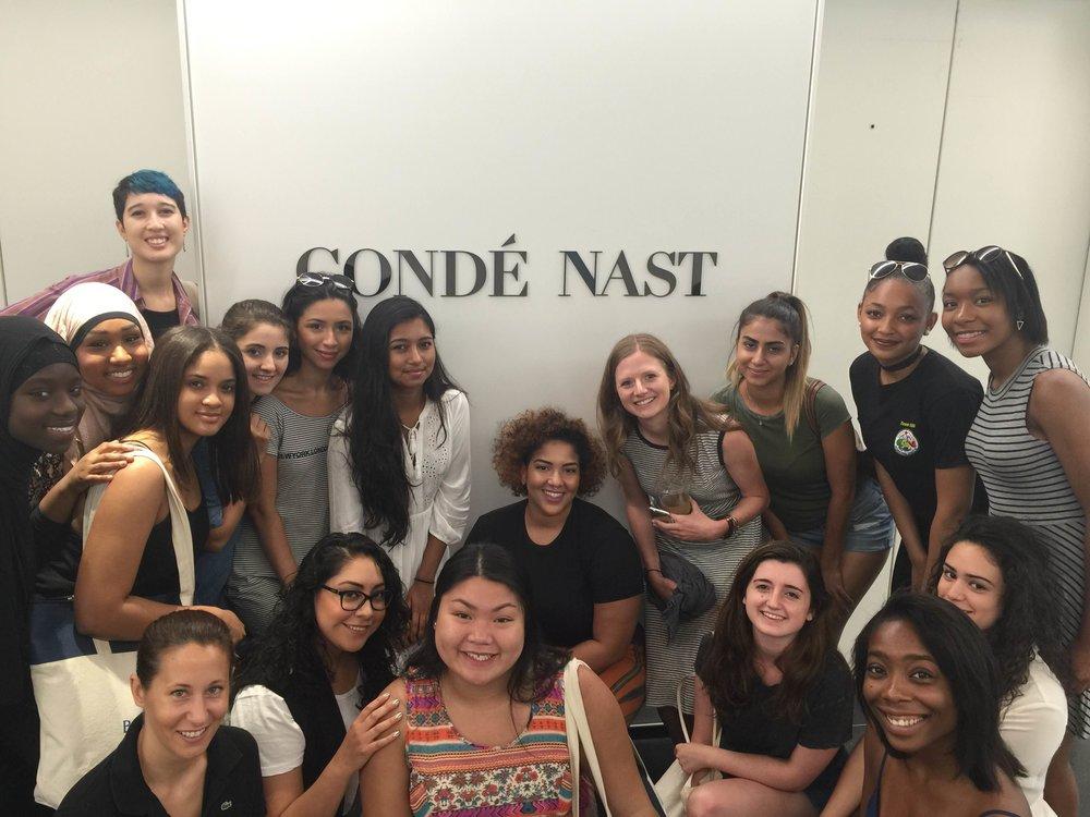 Visiting Condé Nast