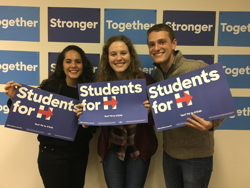 Me (center) and two friends I made over the weekend after a long day canvassing! Camille (left) goes to Columbia College, and Bennett (right) is in the Double Degree Program with Jewish Theology Seminary and Columbia.