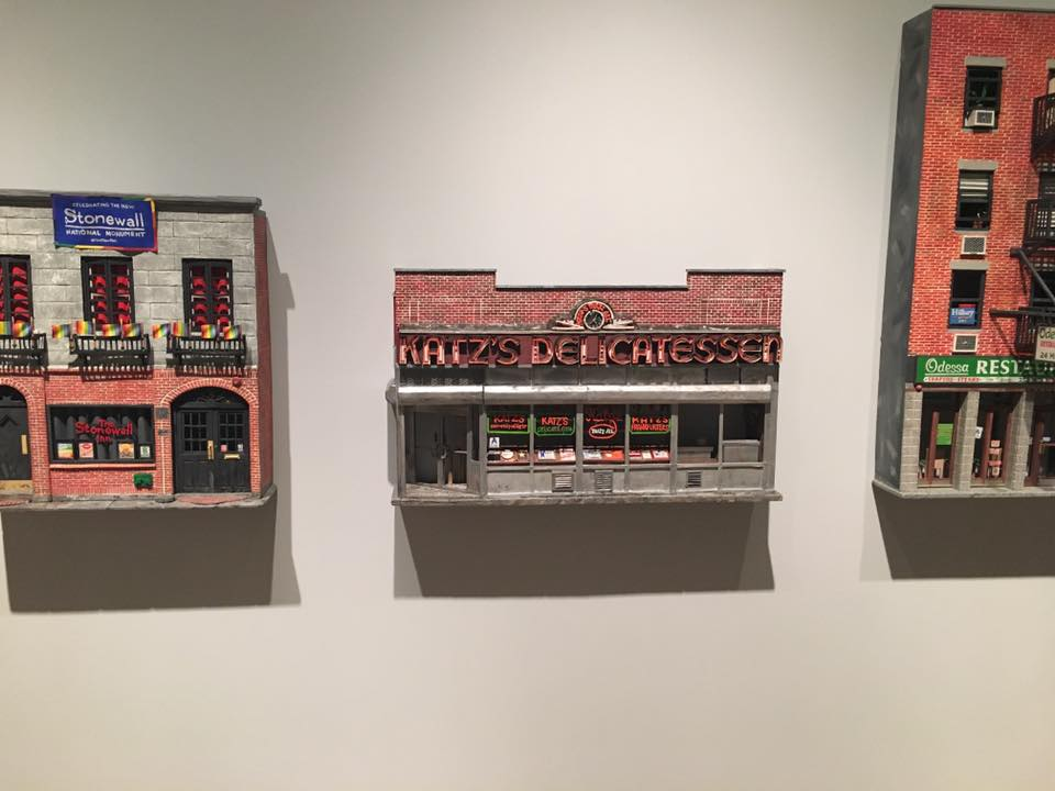 Super cool models at the Jewish Museum