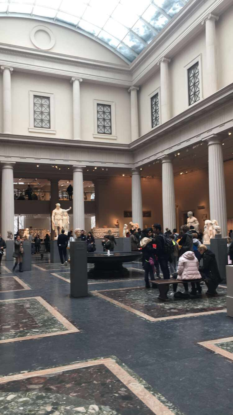 The Met (on Saturday)