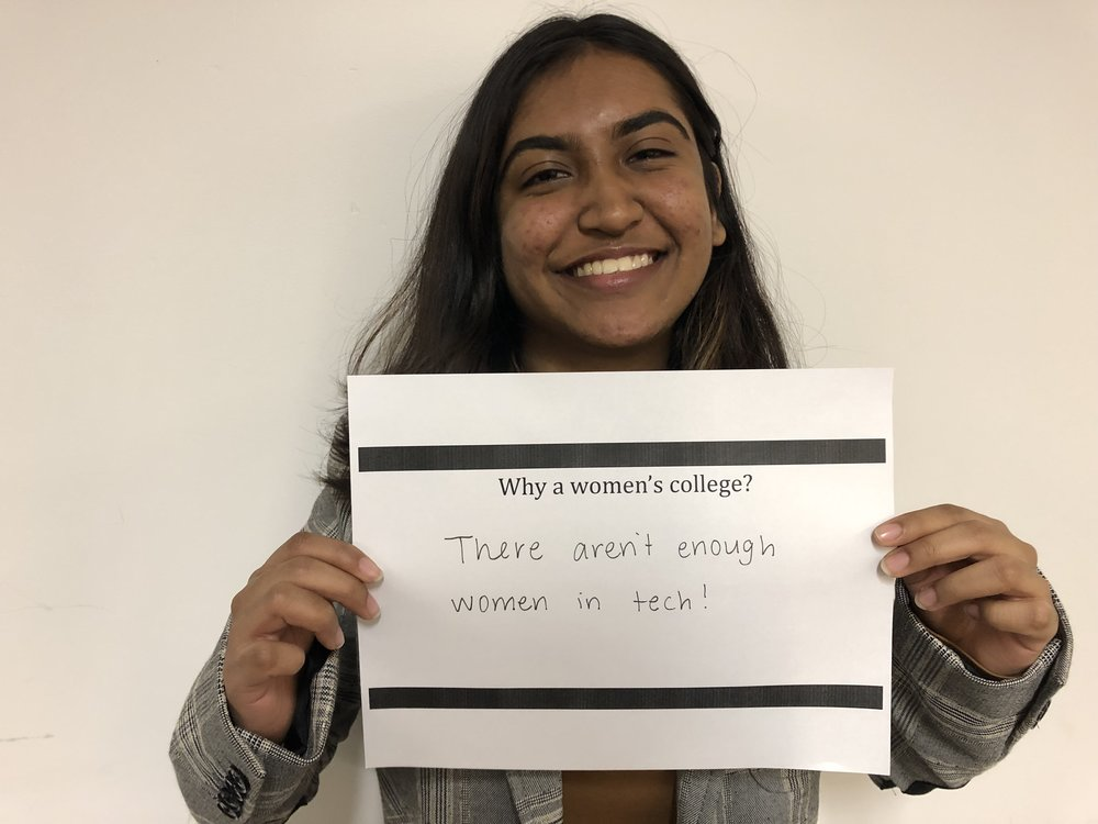 """Ramisa M. '21 - """"There aren't enough women in tech!"""""""