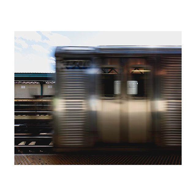 Sunny day subway.