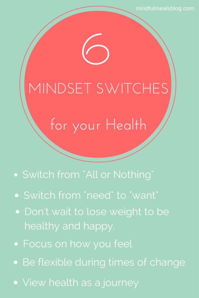 6 Essential Mindset Switches for your Health