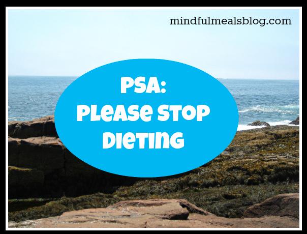 PSA Dieting