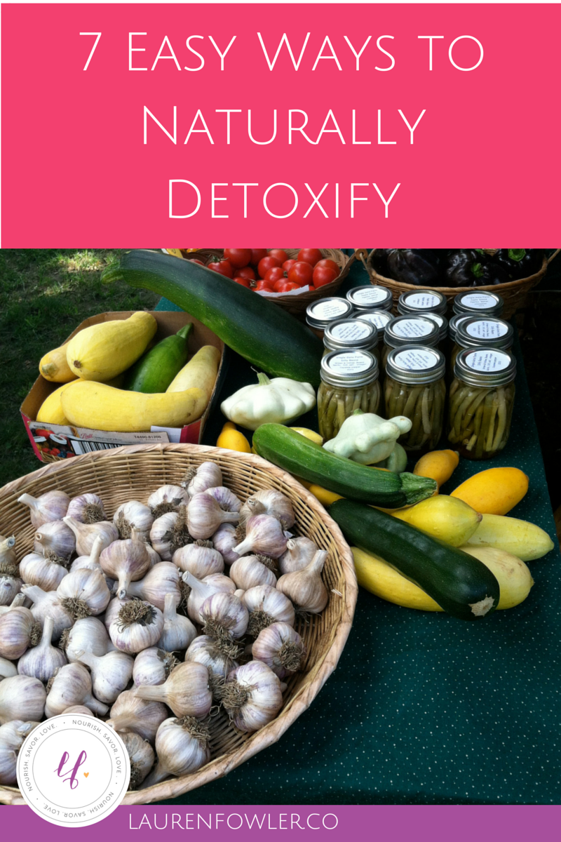 7 Easy Ways to Detoxify Naturally
