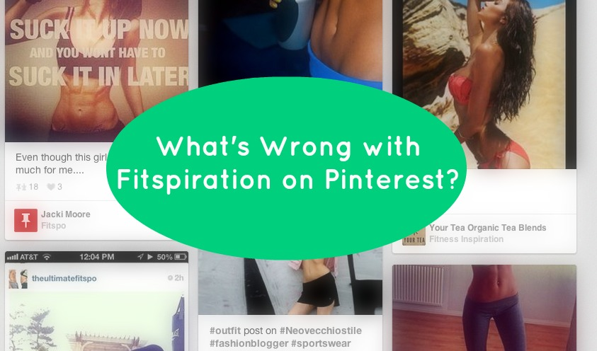 What's wrong with Fitspiration on Pinterest?