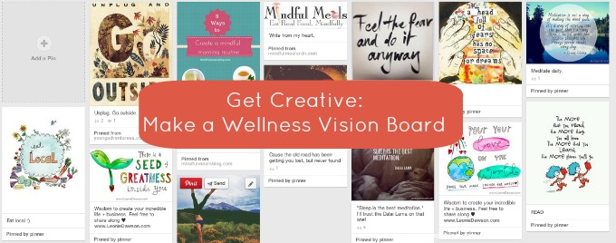Get Creative: Make a Wellness Vision Board
