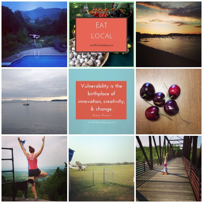 Instagrams of July: July Favorites at Mindful Meals