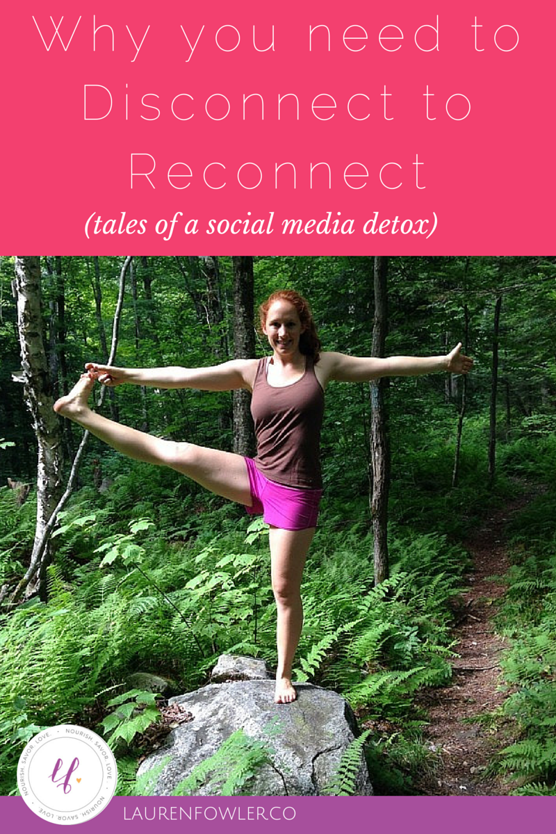 Why you have to Disconnect to Reconnect: Tales of a Social Media Detox
