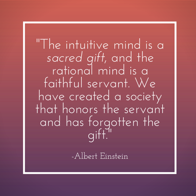 The Intuitive Mind quote