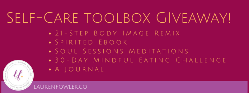 Self-Care Toolbox Giveaway