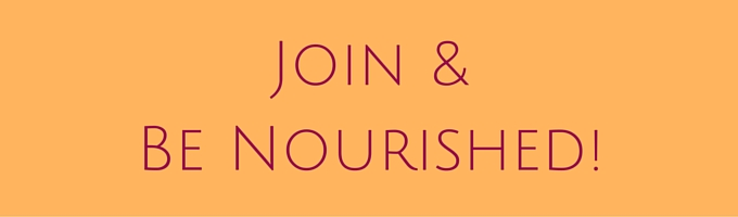 Be Nourished - Join List