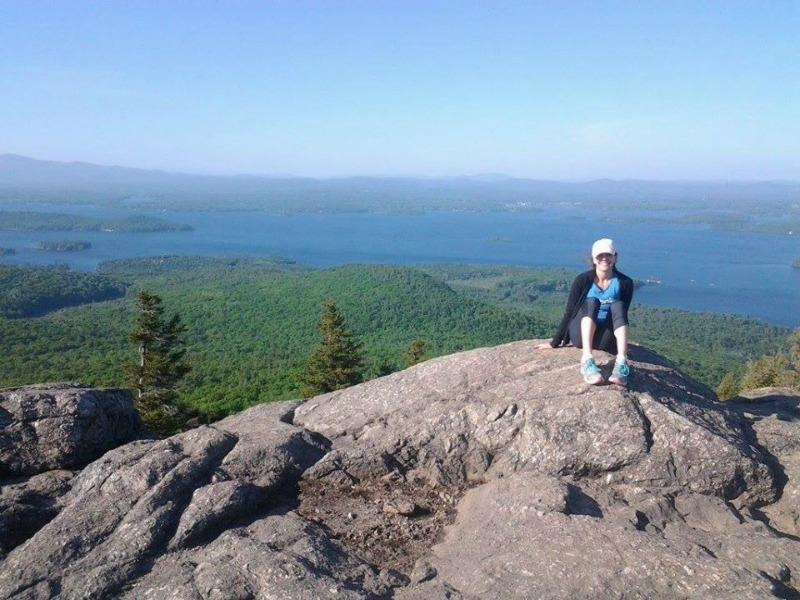 Rachel Hiking