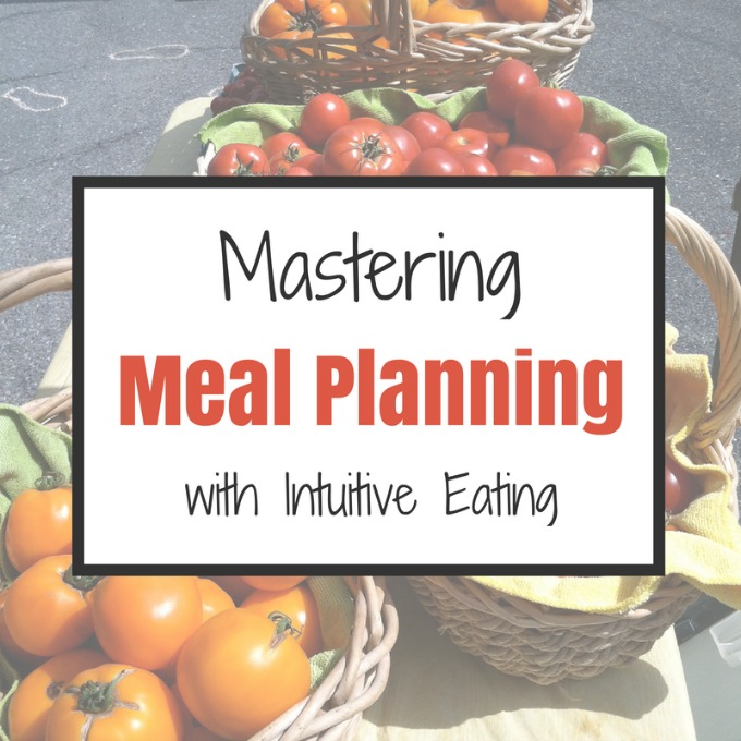 Mastering Meal Planning