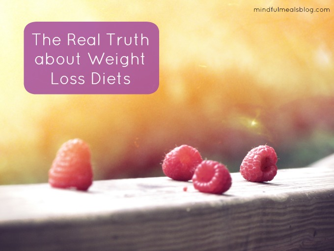 The Real Truth about Weight Loss Diets