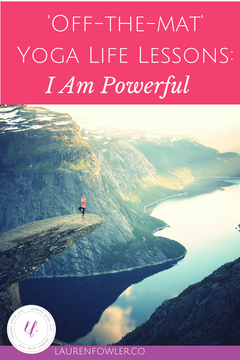 Set your Intention: I Am Powerful
