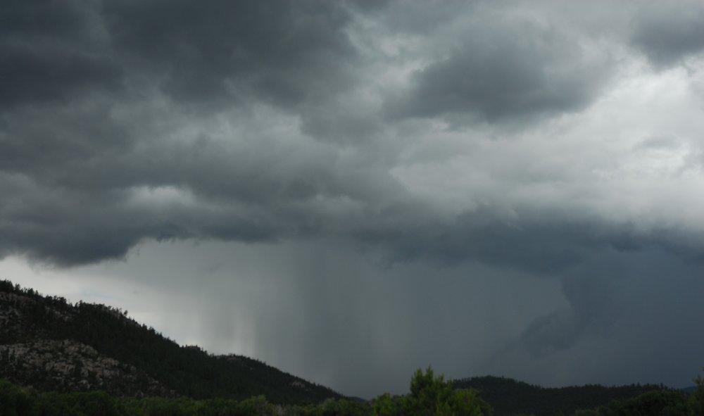 Monsoon rains bring more than a fourth of the year's precipitation