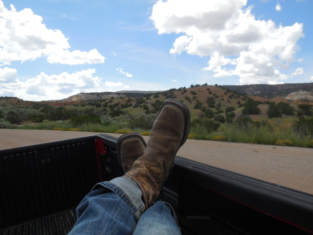 Heading out for the summer's Big Sagebrush harvest.