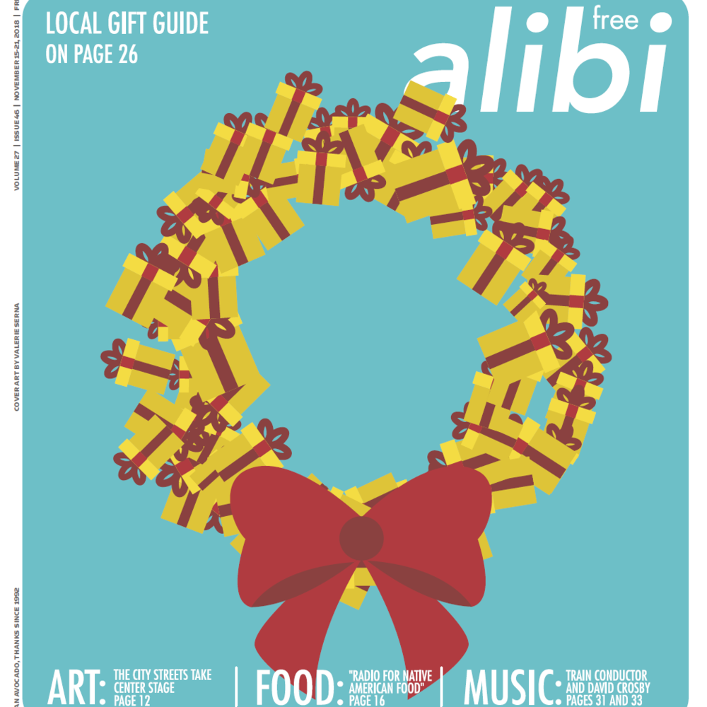 Alibi 2018 Holiday Gift Guide