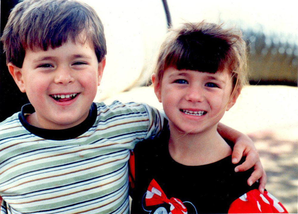 We're talking Disney magic in this Weenta Productions blog post.   This photograph of my twin brother, Robert, and me was taken in the anticipation months leading up to our yearly trip to Disney World.  From the age of 6 to 9...3 whole years, I refused to take off that Minnie Mouse dress.  - Julia Elizabeth Evans