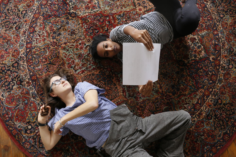 Julia's circle rug.