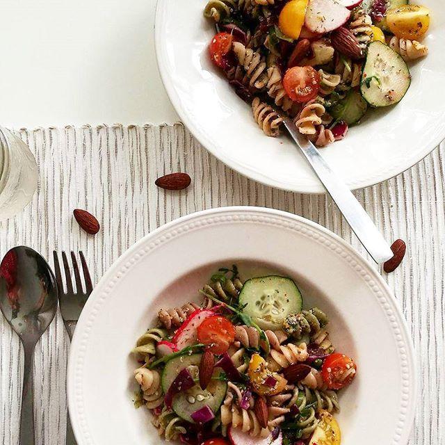 Vegan Pasta salad dish .jpeg