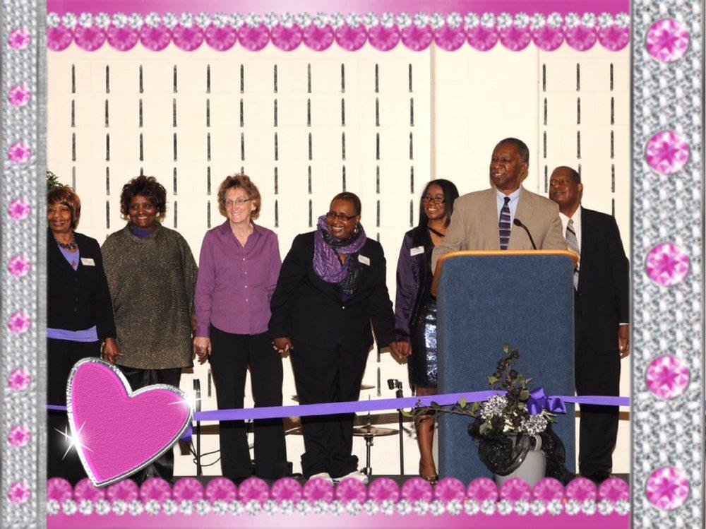 Councilman Eddie Davis and the Durham Epilepsy Support Team