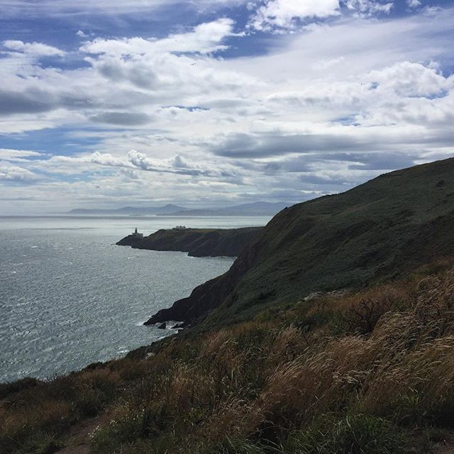 Walked a loooong  way to see that fucking lighthouse!!! #howth #hikes #cliffwalk #lighthouse #ireland #coolsummer
