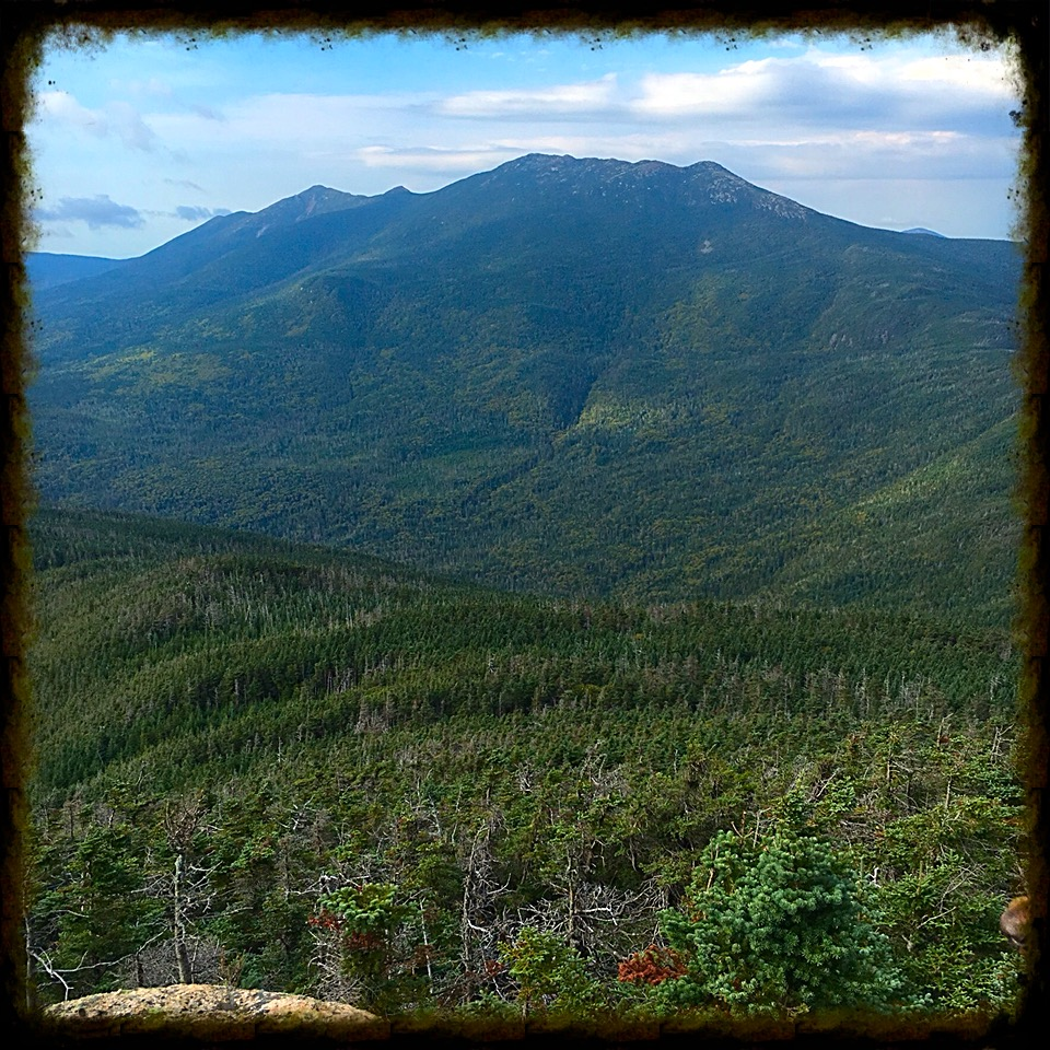 Majestic Franconia Ridge, as seen from Mt. Garfield.  Hard to believe we were over there yesterday.