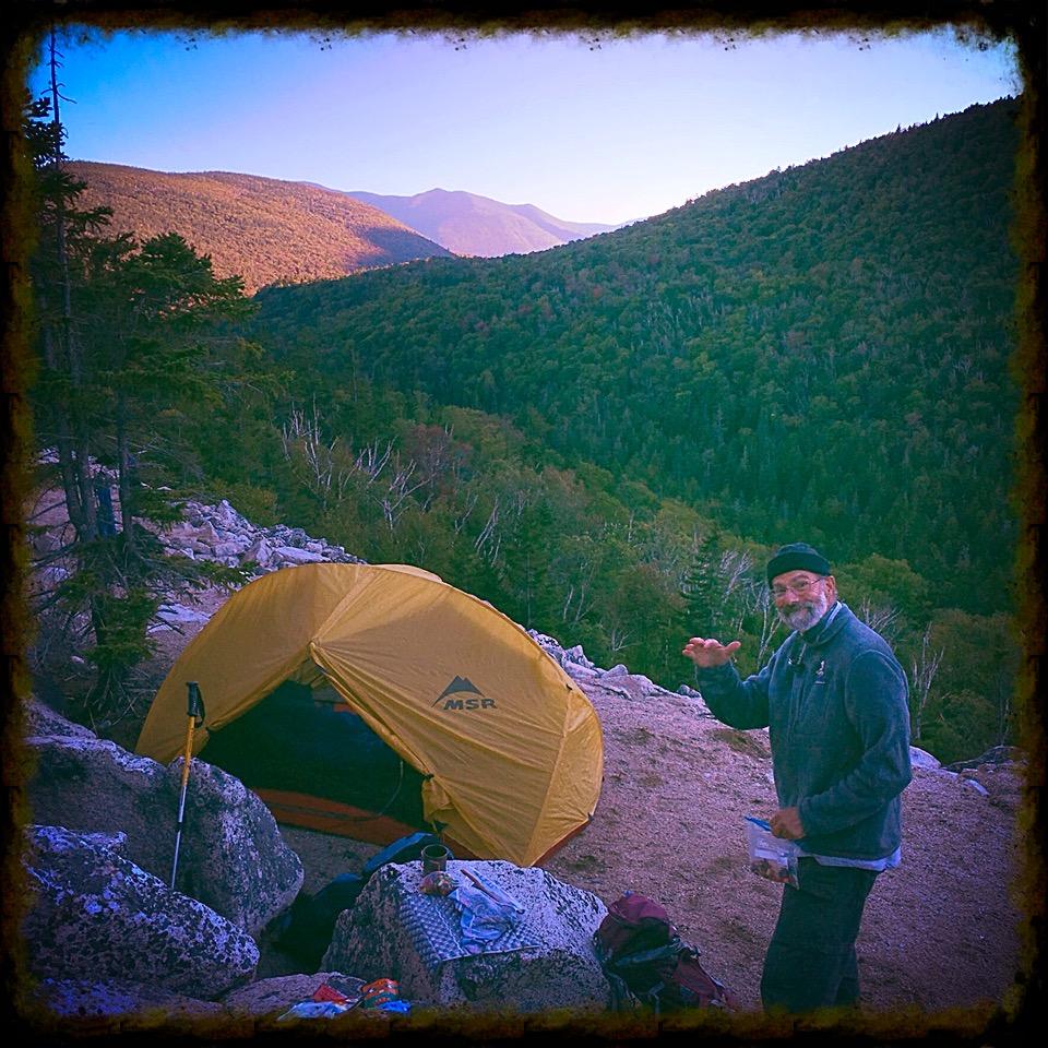 Happy camper.