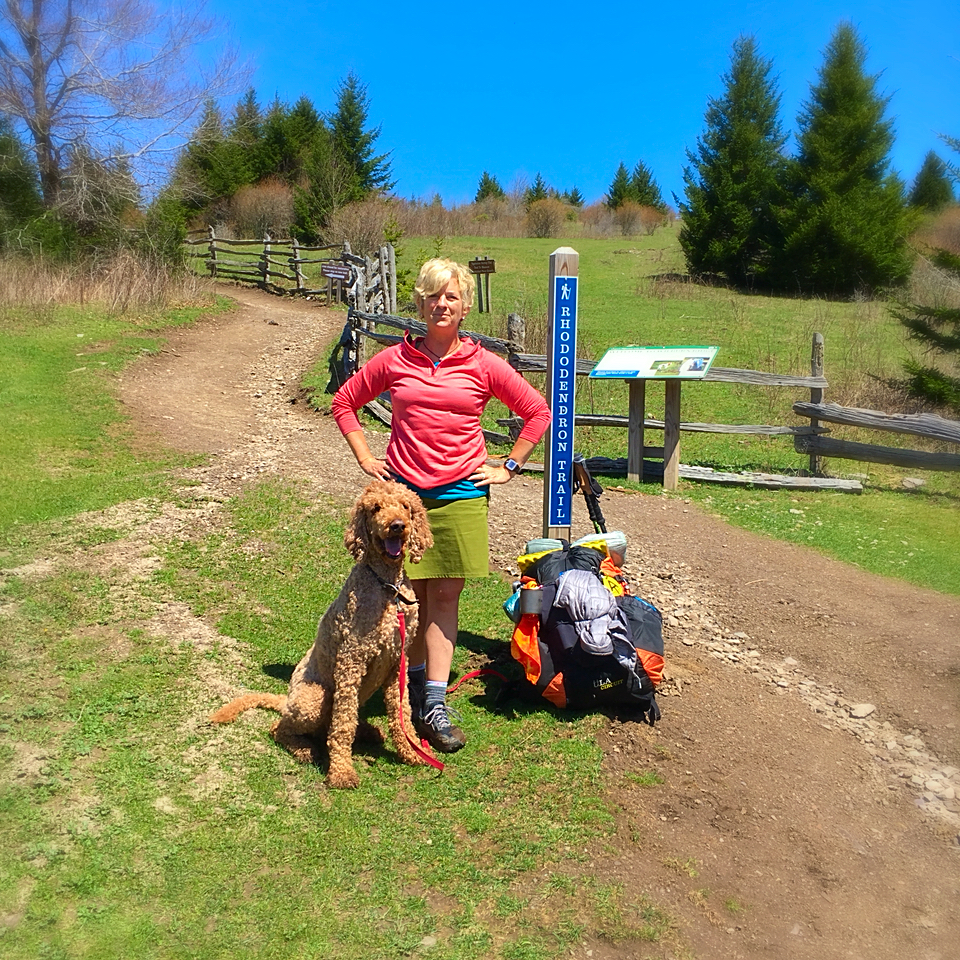 Day 1.  Grayson Highlands State Park.