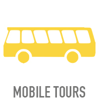 MOBILE TOURS We create, develop and keep the road show moving seamlessly with our team of production & logistics experts. No project is too big or too small.